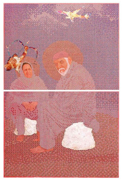 God Bless You ( Diptych)