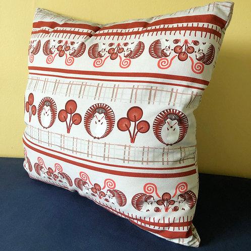 """Hedgehog Linear Pattern"" Cushion Cover"