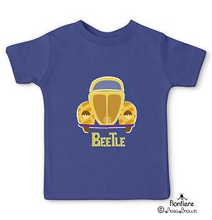 t-shirt-children beetlescars inpurple vw