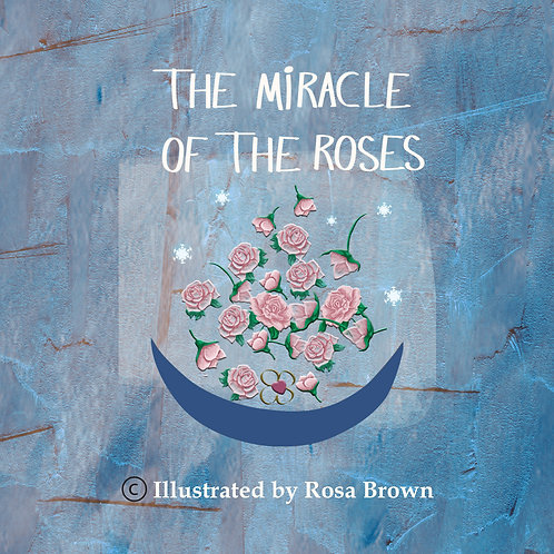 """""""The Miracle of the Roses"""" Illustrated Concertina Book - Virgin of Guadalupe"""