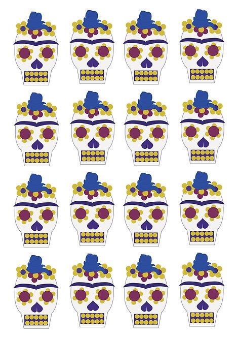 Skulls-Frida Stickers