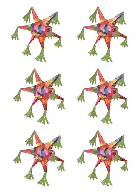 Pinatas Stickers
