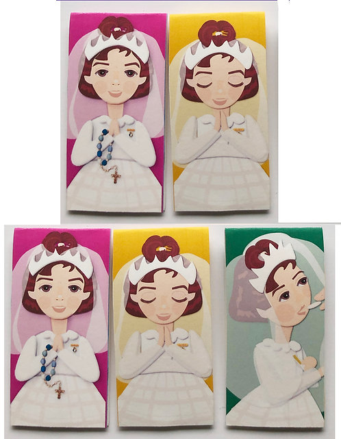 First Holy Communion Bookmark Set of 5