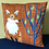 "Thumbnail: ""Fox in a Forest"" Cushion Cover"