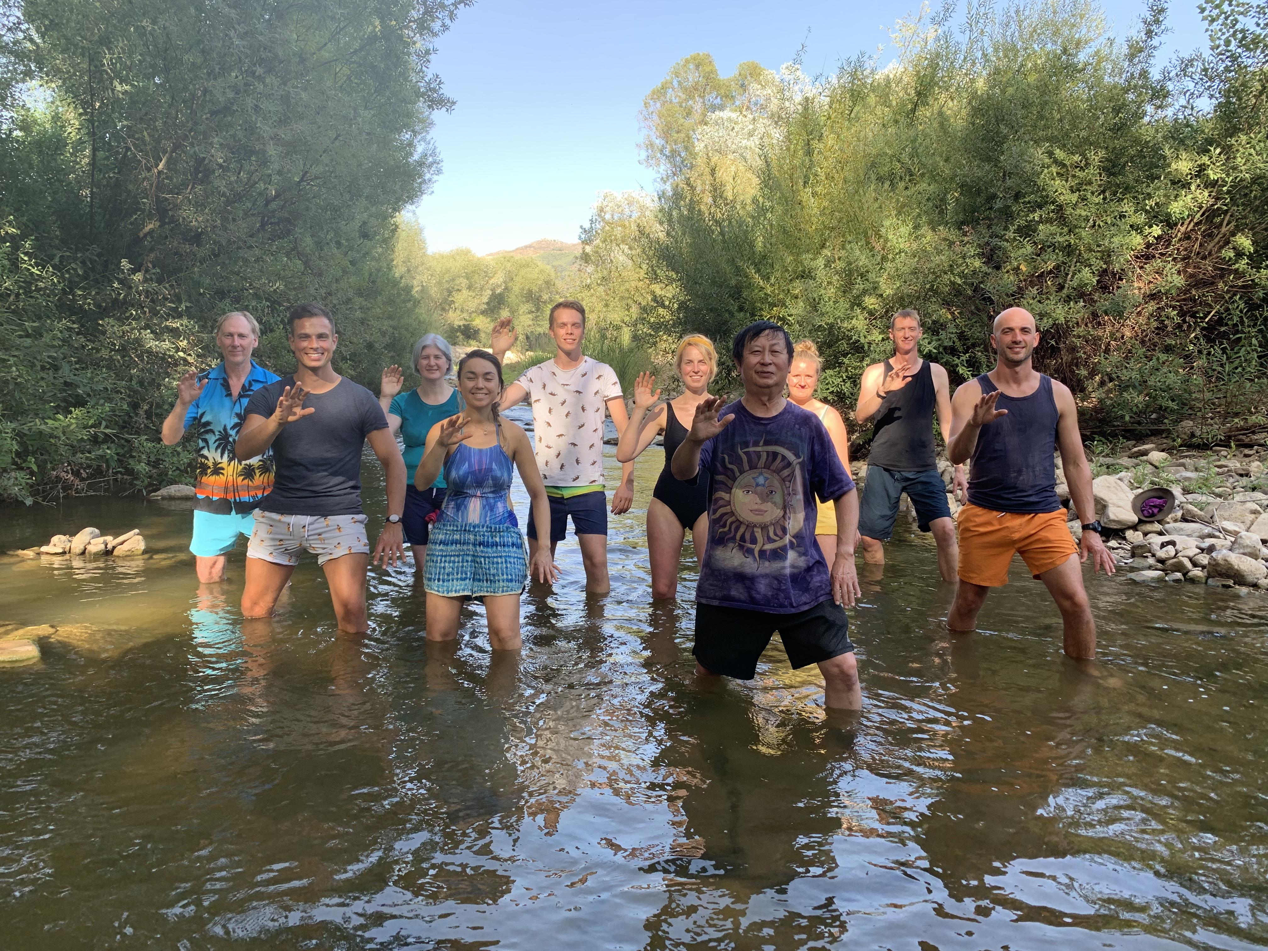 Tai chi in in the River