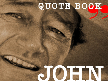'John Wayne Speaks' To Be Published by St. Martin's Press, Fall 2021