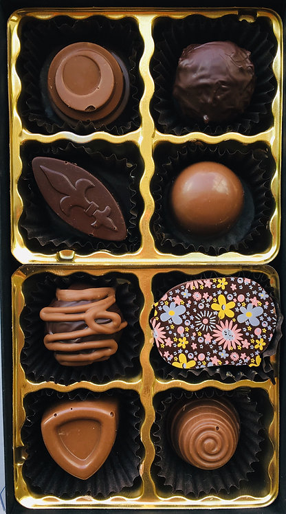 Assorted 8 pieces box