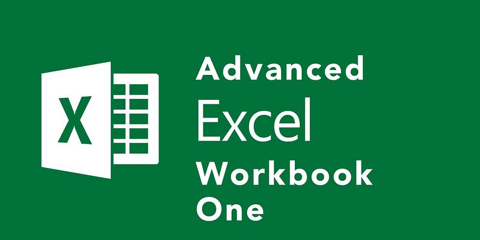 Advanced Excel Workbook I