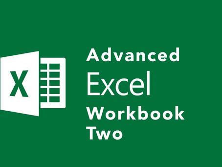 Advanced Excel II - Macros & Worksheets ($89)