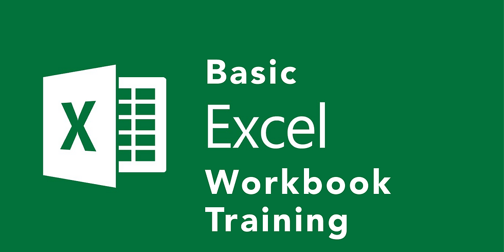 Basic Excel Workbook Training
