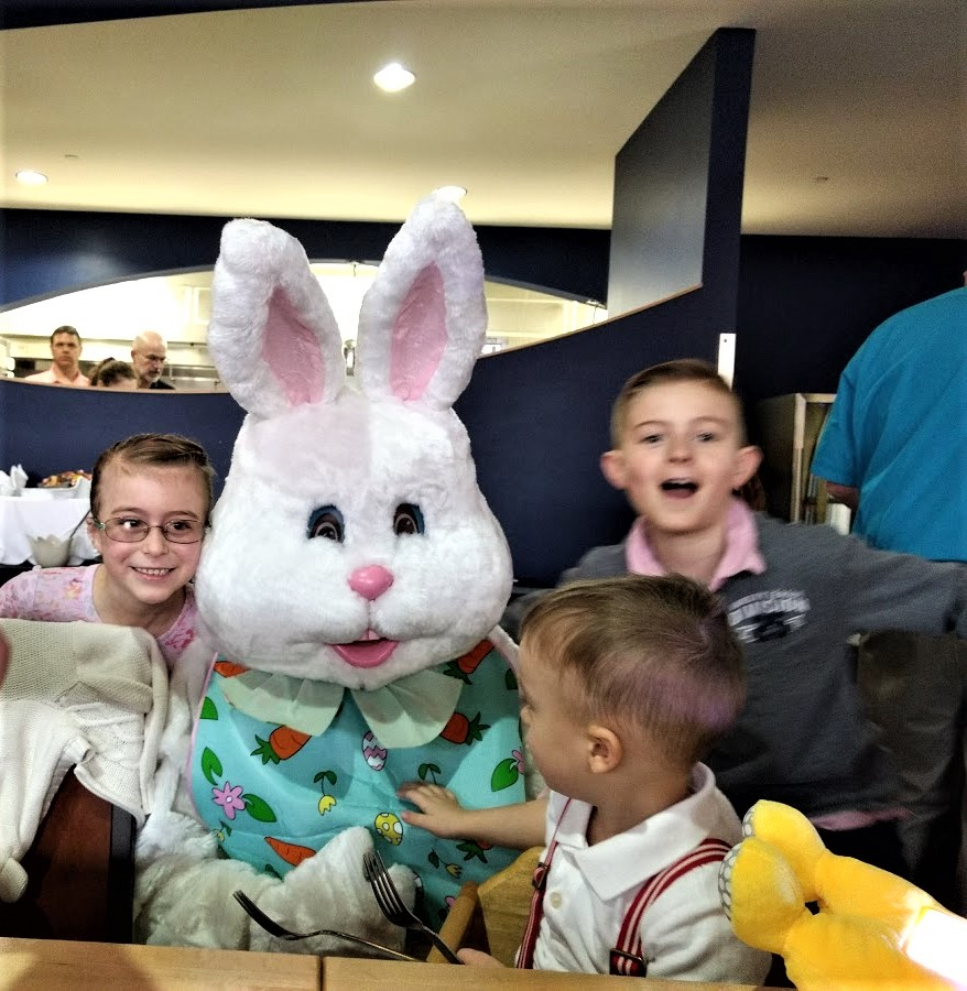 Easter buny and all