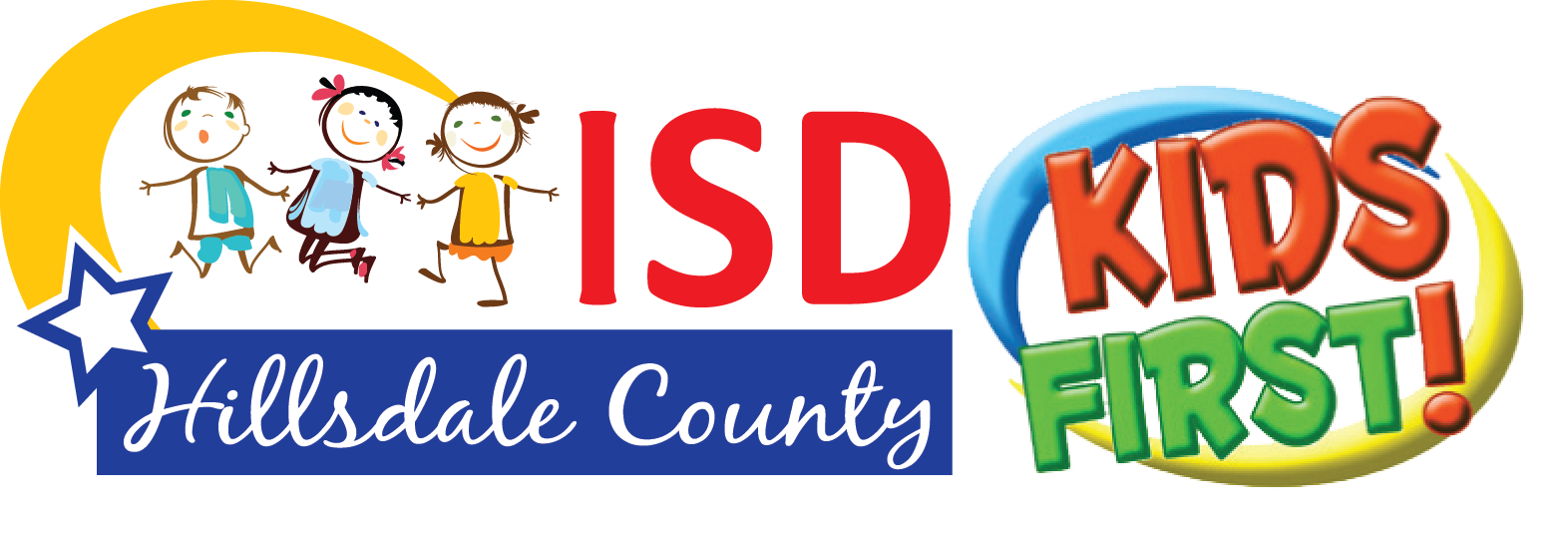 HCISD Logo 2016 Final_Kids First_white