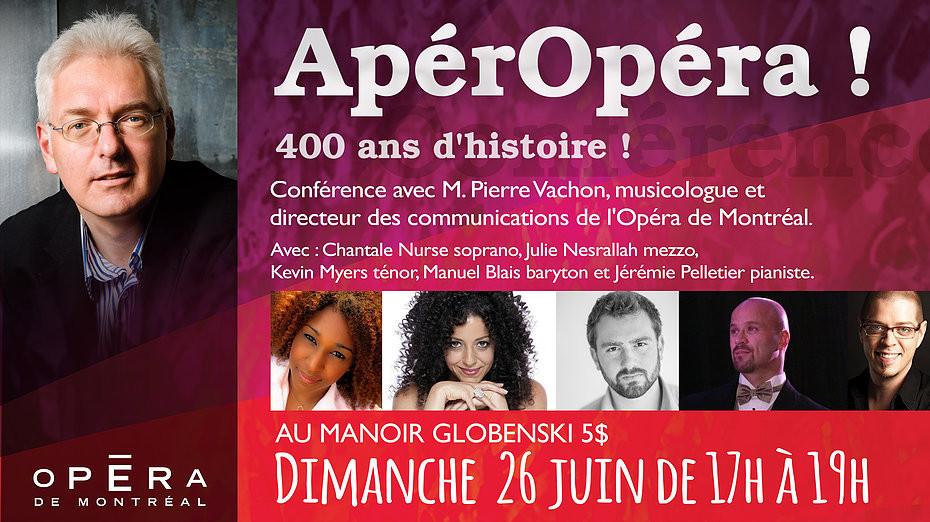 """26 juin: Le """"5à7"""" avec le musicologue Pierre Vachon!"""