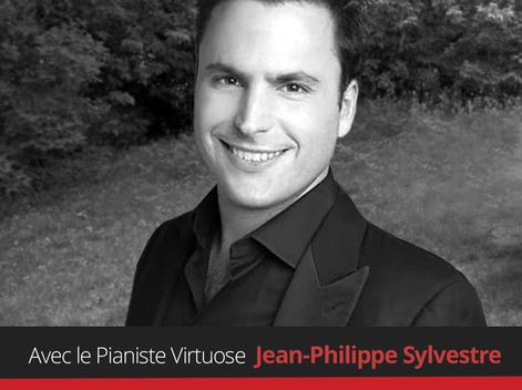 À la découverte de nos artistes du Récital Barbecue Espagnol! Le Pianiste Virtuose Jean-Philippe Syl