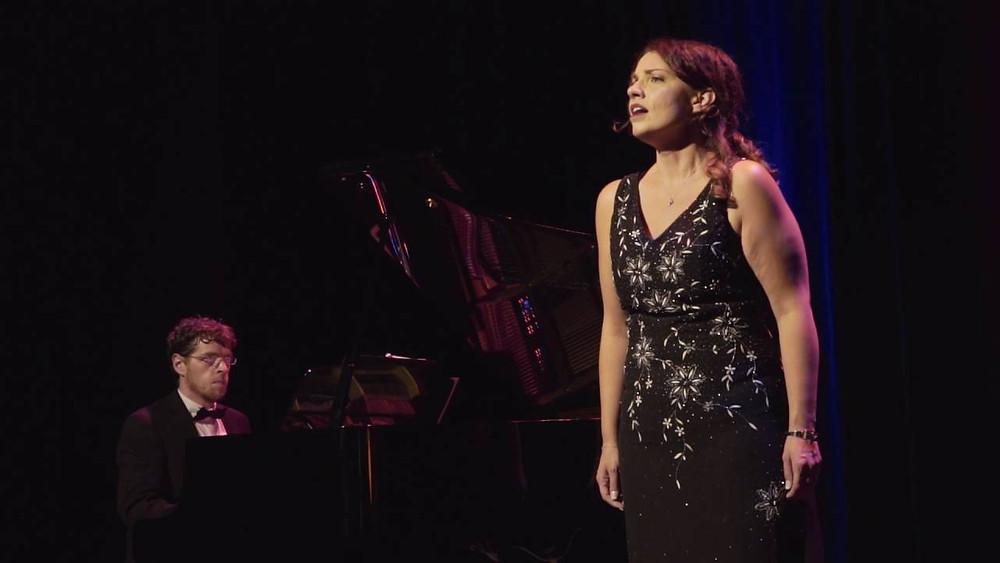 Audrey Larose-Zicat au FOSE 2016 avec le pianisteJérémie Pelletier
