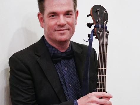 À la découverte de nos artistes ! Concert Bénéfice Notre grand Guitariste classique Pascal Valois.