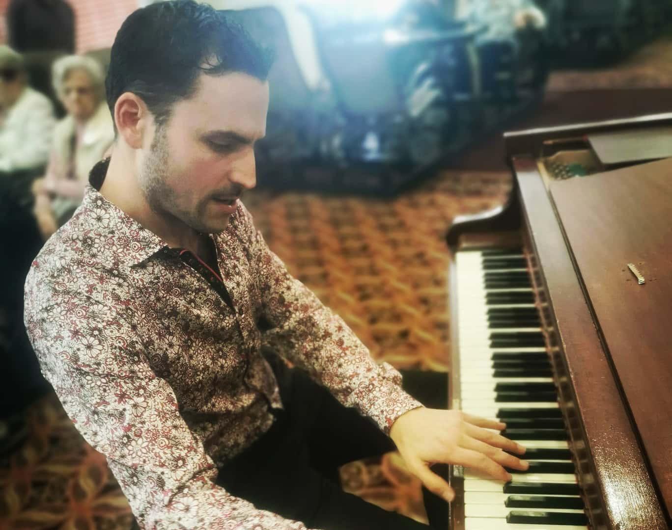 Le pianiste Jean-Philippe Sylvestre