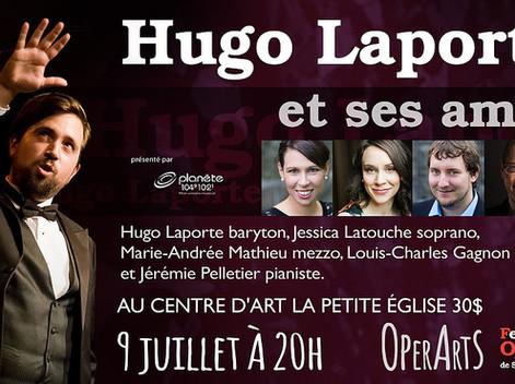 Hugo Laporte et ses amis au FOSE présenté par Radio Planète!