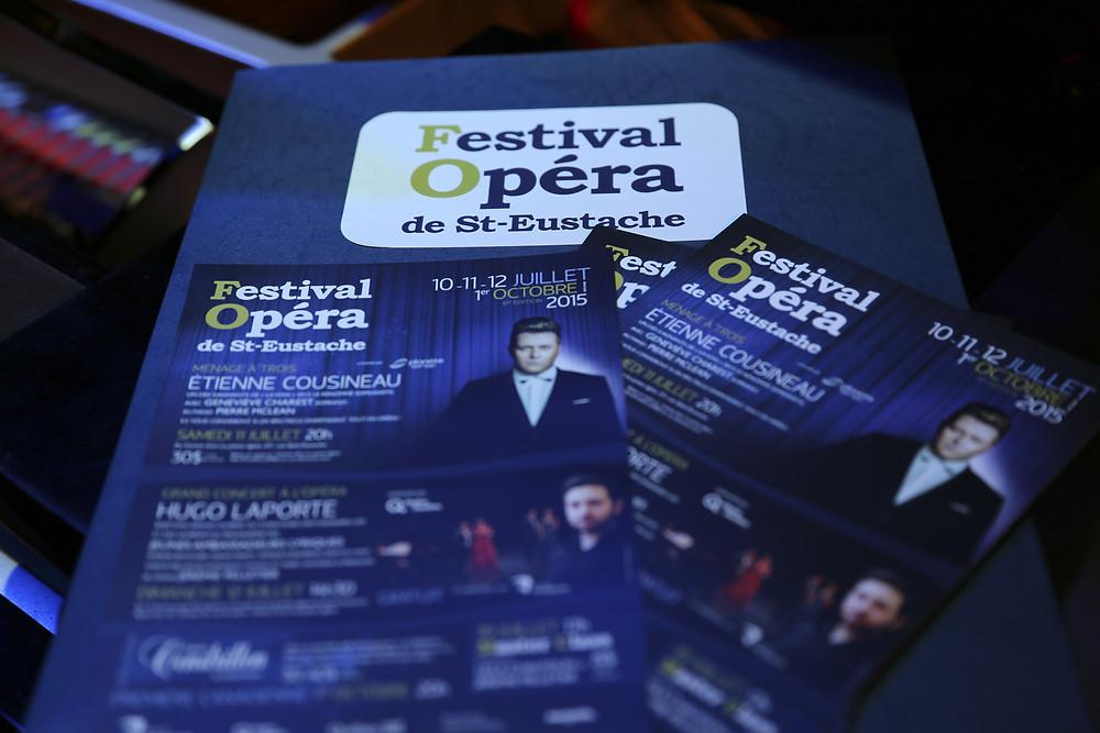 Grande première, opéra, opérette et concert gratuit pour le FestivalOpéra 2015