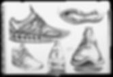 Konstantin Baumann VOID Sneaker Project Renderings Sketches Shoe Adidas Nike concept