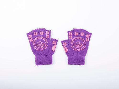 公式光るももキャッチ手袋(送料含)紫