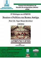 IV Diálogos no ATRIVM / UFMS