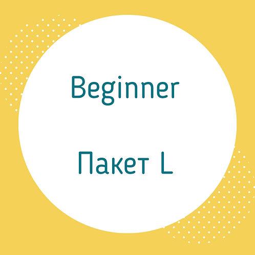 Beginner, пакет L