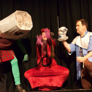 """""""The Tragedy of He-Manlet, Prince of Eternia"""" - New Millennium Theatre Company"""