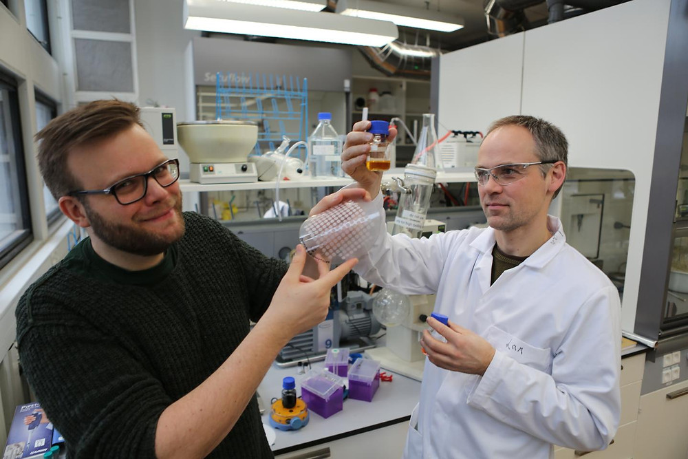 Thomas Just Sørensen is an associate professor at the University of Copenhagen chemistry department's Nano Science Center. Together with colleagues Professor Bo Wegge Laursen and Martin Rosenberg, he has taken out the patent DK201370617.