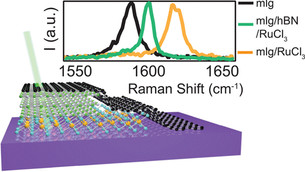 New way to control electrical charge in 2D materials: Put a flake on it