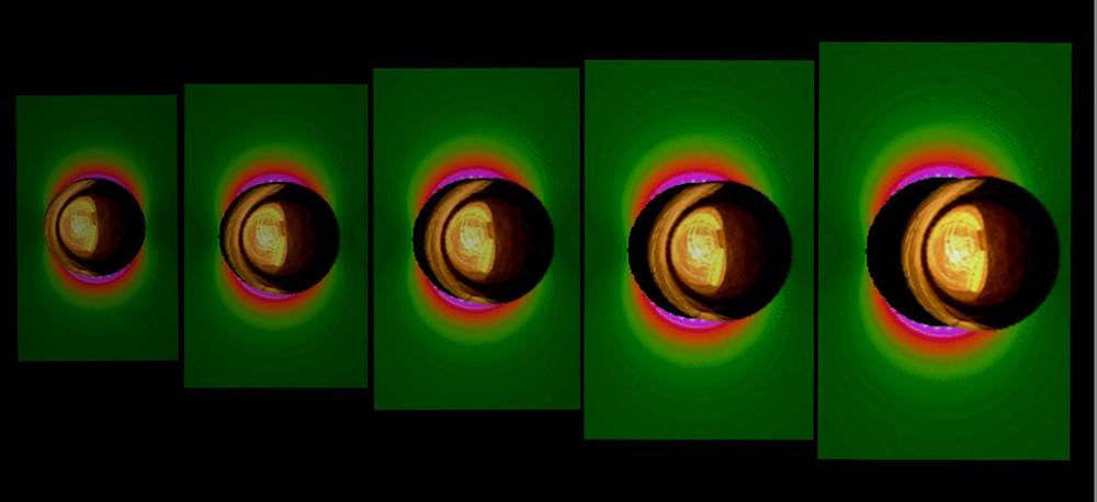 Metal nanoparticle concept art.  @ Prof. Eden Morales-Narváez, CIO Mexico