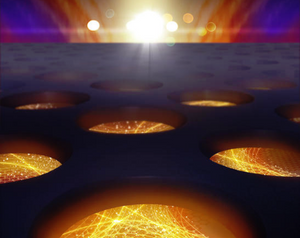 Lithographically carved nanographene yields outstanding electrical properties.  @ Carl Otto Moesgaard