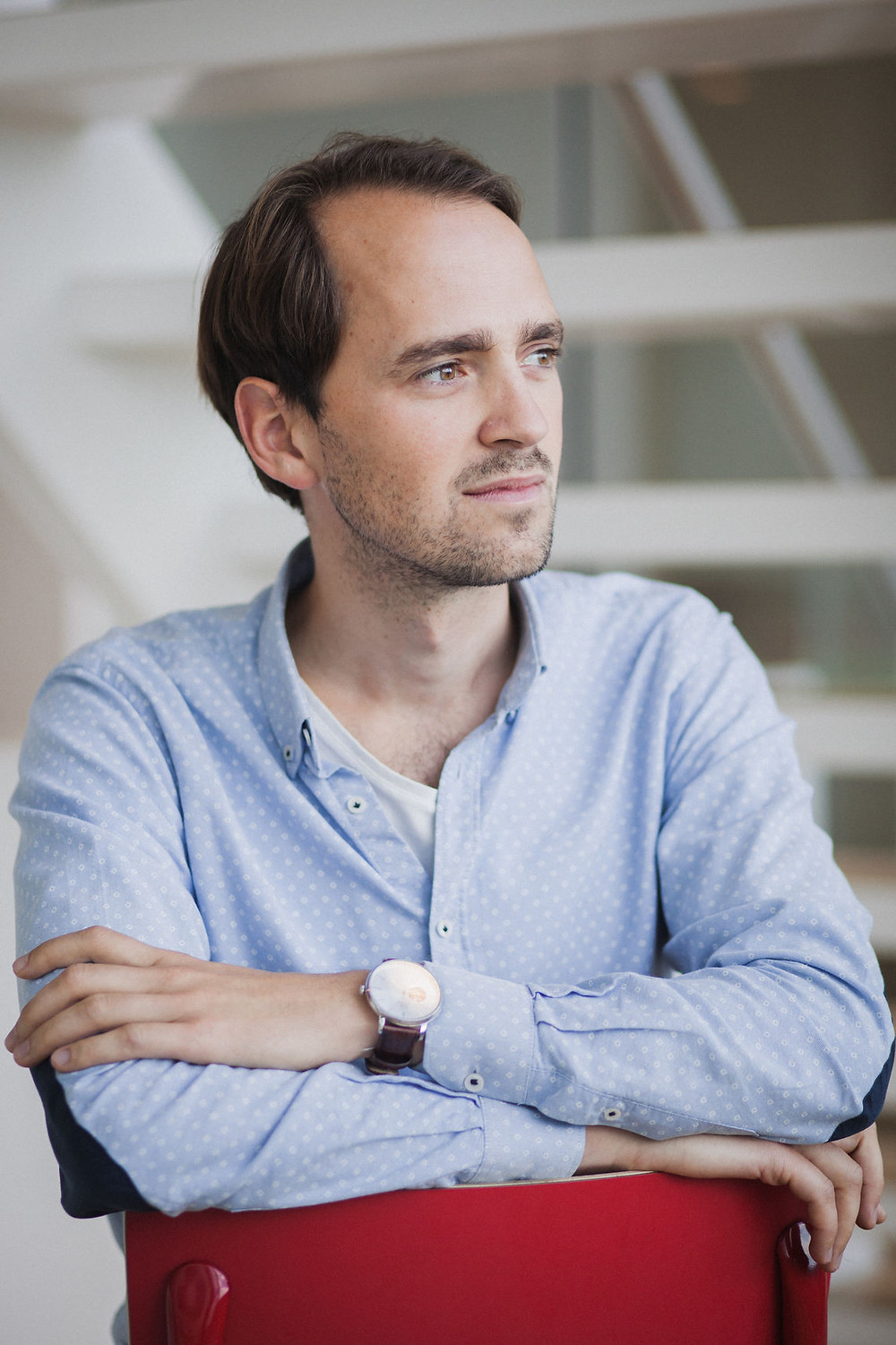 Aaike van Vugt is the CEO and co-founder of VSPARTICLE