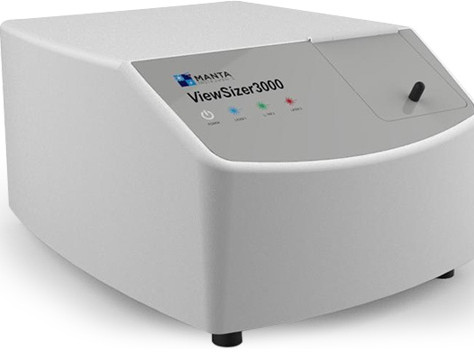 MANTA Instruments Launches the ViewSizer 3000, a Scientific Instrument Offering Breakthrough Nanopar