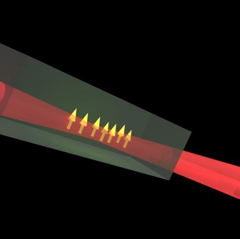 Defects promise quantum communication through standard optical fiber