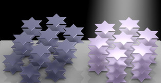 Ambient light alters refraction in 2D material