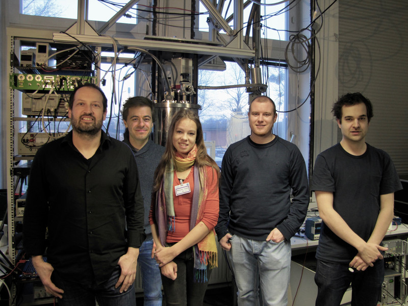 The team: Johannes Majer, Stefan Nevacsil, Noomi Peterschofsky, Thomas Astner, Andreas Angerer (left to right)