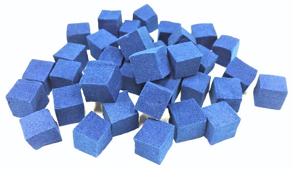 Decontamination sponge spawned from current study Cellulose nanofiber-Prussian blue compounds are permanently anchored in spongiform chambers (cells) in this decontamination sponge. It can thus be used as a powerful adsorbent for selectively eliminating radioactive cesium. © 2017 Sakata & Mori Laboratory.