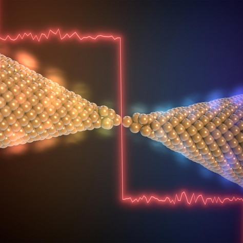 Breakthrough with a chain of gold atoms