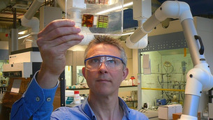 Breakthrough material for printed solar cells