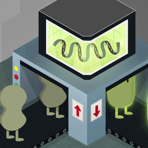 Self-powered RNA nanomachine