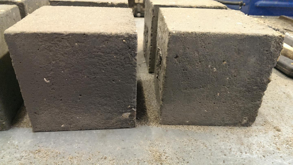 The new concrete developed using graphene by experts from the University of Exeter (credit: Dimitar Dimov / University of Exeter)  @ Dimitar Dimov / University of Exeter