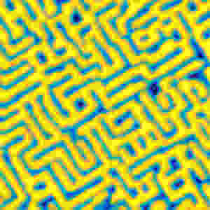 A labyrinth-like structure emerges on the surface.  @ TU Wien