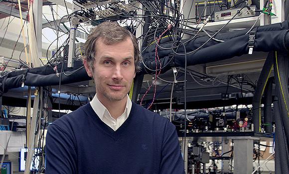 Professor Joseph Thywisse, principal investigator of University of Toronto's Ultracold Atoms research group.