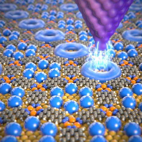 Data storage using individual molecules
