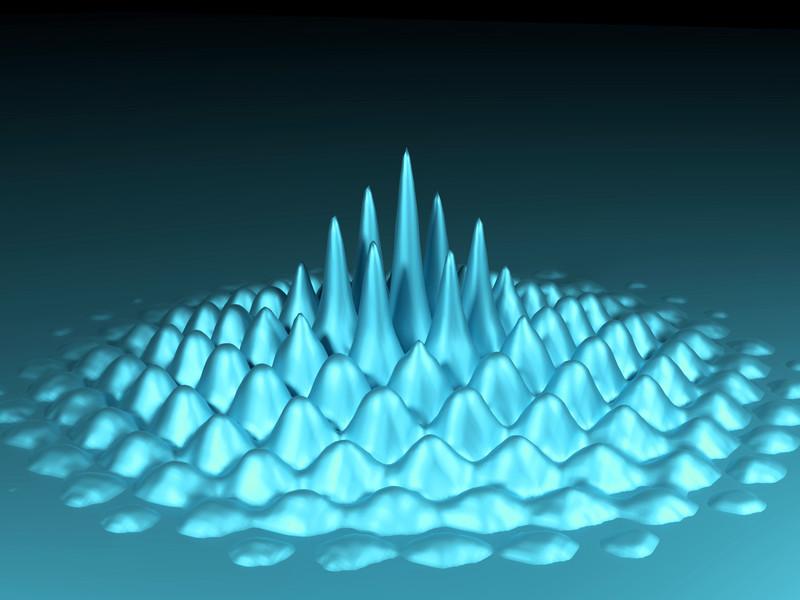 Bose-Einstein-condensates making waves: a many-particle phenomenon