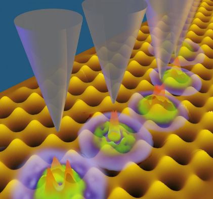These are new kinds of quantum bits: extremely small nanostructures allow delicate control of individual electrons by fine-tuning their energy levels.  @ TU Wien