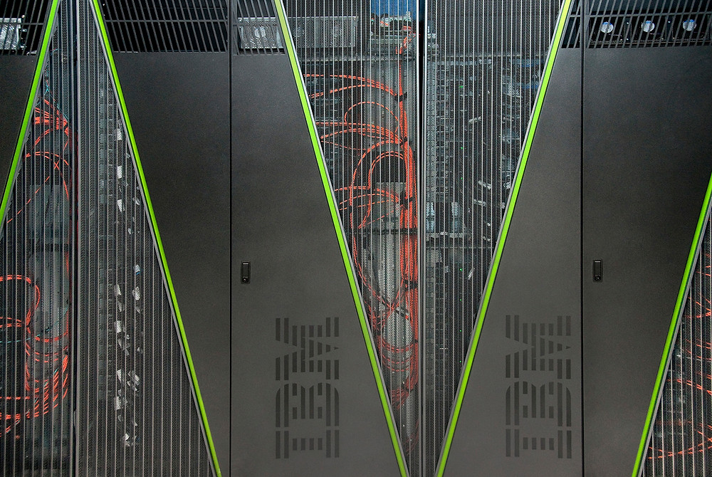 Supercomputers such as Brookhaven Lab's Blue Gene/Q were essential for completing the complex calculation of direct CP symmetry violation. The same calculation would have required two thousand years using a laptop.