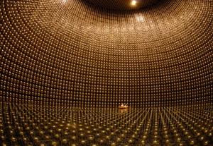 The Super-Kamiokande detector in Japan