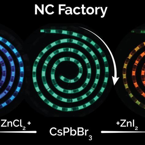 Nanocrystal 'factory' could revolutionize quantum dot manufacturing